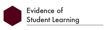 evidence of student learning title for framework